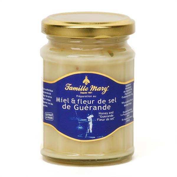 Miel et fleur de sel de Guérande