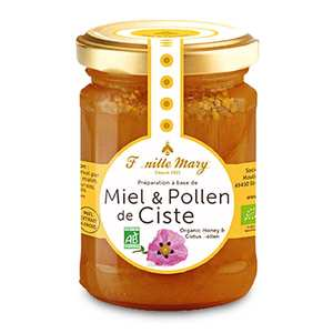 Famille Mary - Organic Honey and Cistus Pollen