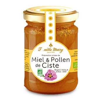 Famille Mary - Organic Honey and Cistus Pollen