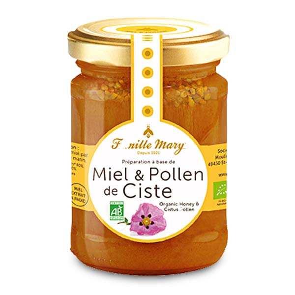 Organic Honey and Cistus Pollen
