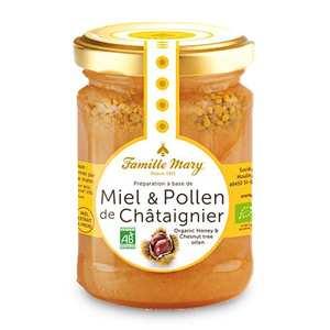 Famille Mary - Miel et pollen de châtaignier bio