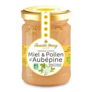 Famille Mary - Miel et pollen d'aubepine bio
