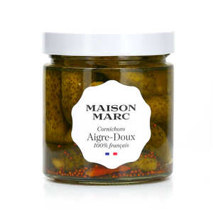 Maison Marc - French Sweet and sour gherkins in vinegar