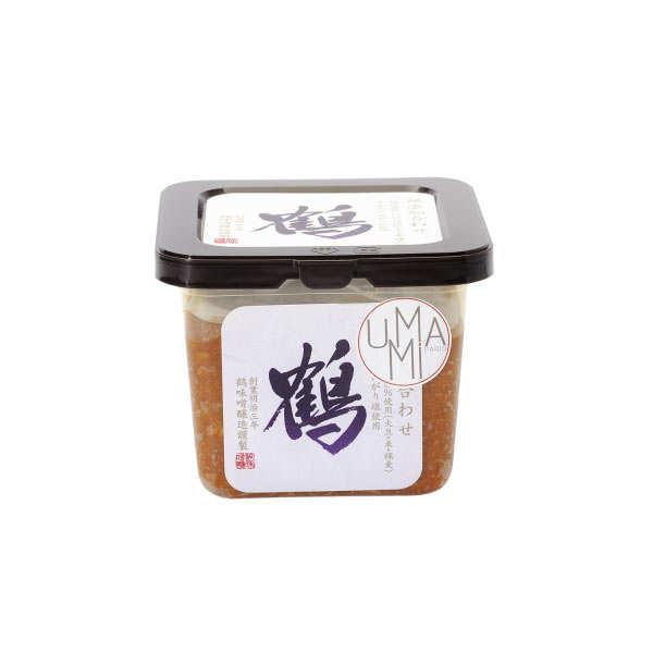 Miso soja et orge sans additif