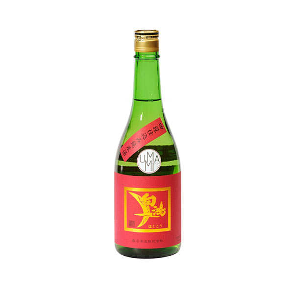 Saké Hakuko Junmai Yodanjikomi Label rouge - 15.5%