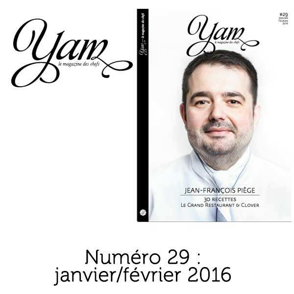French magazine about cuisine - YAM n°29