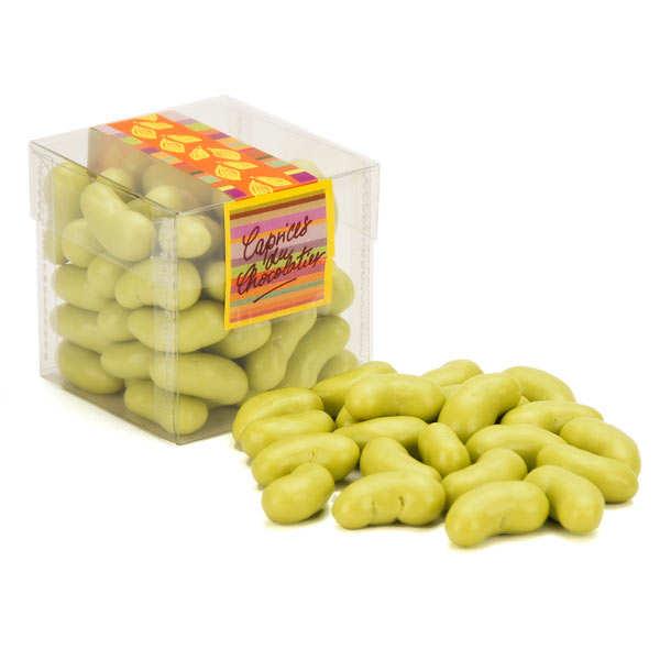 Haricots verts bonbon nougatine