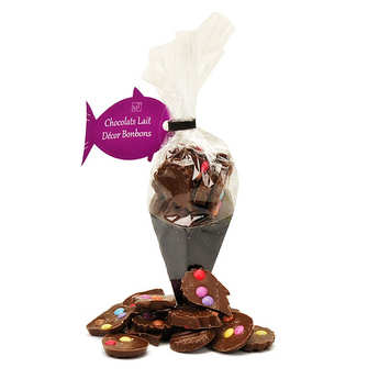 Maison Taillefer - Cornet de friture en chocolat au lait