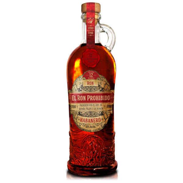El Ron Prohibido rum from Mexico 40%
