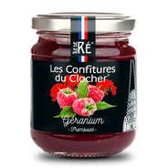 Les Confitures du Clocher - Geranium and Raspberry Jam