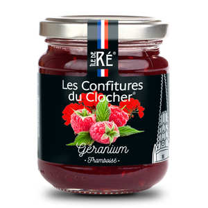 Les Confitures du Clocher - Geranium and Raspberry Jam