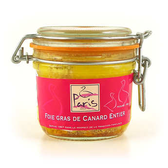 Maison Paris à Pomarez - Foie gras de canard entier fermier des Landes