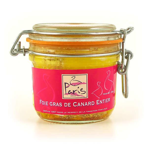 Foie gras de canard entier fermier des Landes