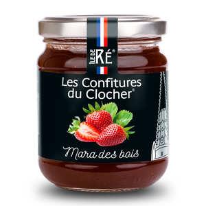 Les Confitures du Clocher - Confiture extra de fraise mara des bois