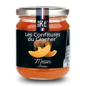 Les Confitures du Clocher - Confiture extra de melon au pineau