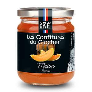 Les Confitures du Clocher - Confiture extra de melon au pineau