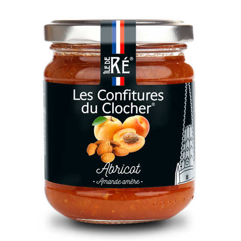 Les Confitures du Clocher - Apricot and Bitter Almond Jam