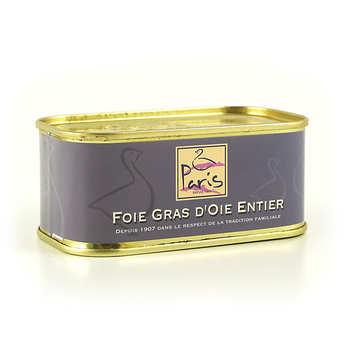 Maison Paris à Pomarez - Foie gras d'oie entier des Landes