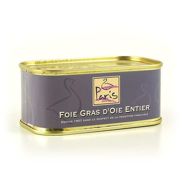 Foie gras d'oie entier des Landes