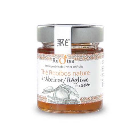 Les Confitures du Clocher - Gelée de thé rooibos à l'abricot et réglisse