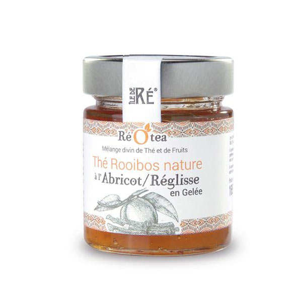 Rooibos Teab with Apricot and Licorice