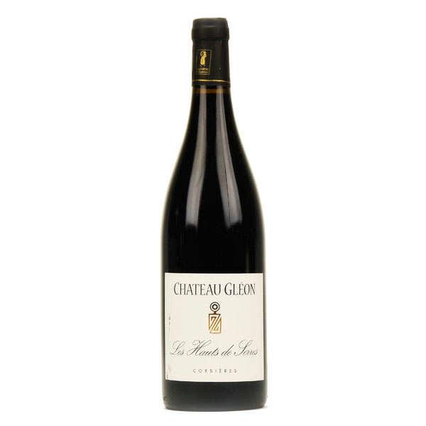 Corbières rouge Château Gléon - Les hauts de Serre - 13%