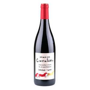 Château de Lascaux - Organic Domaine Cavalier red wine, IGP St Guilhem le désert - 13,5%