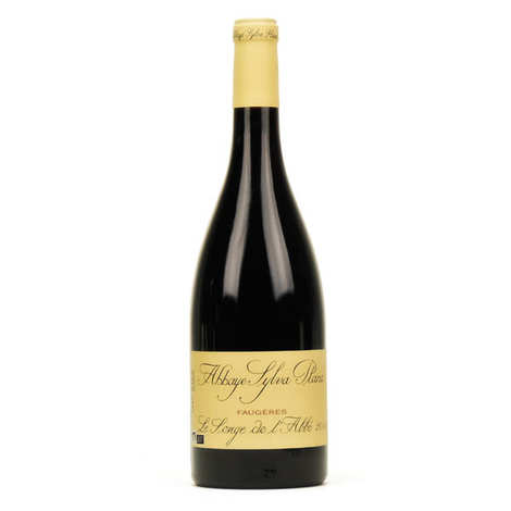 Abbaye Sylva Plana - Organic Faugères Red wine  Le songe de l'abbé - 14,5%