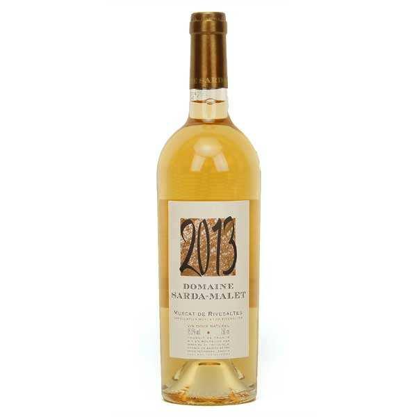Organic Muscat de Rivesaltes White wine - 15.5%