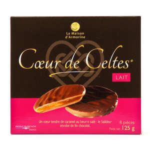 La Maison d'Armorine - Coeur de Celtes chocolat au lait et salidou