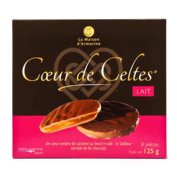 Milk Chocolate Caramel Biscuit