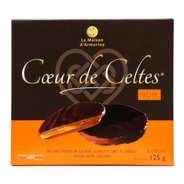 La Maison d'Armorine - Coeur de Celtes chocolat noir et salidou