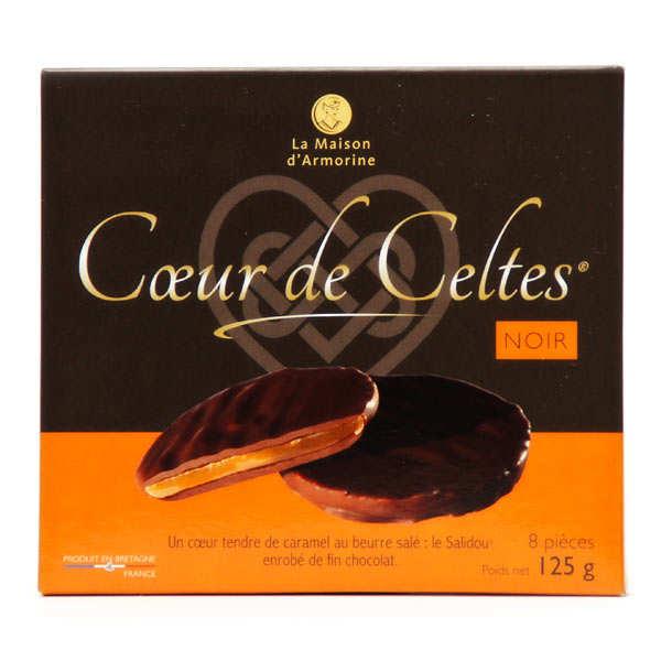 Coeur de Celtes chocolat noir et salidou
