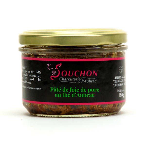Pork Liver Paté with Aubrac Tea