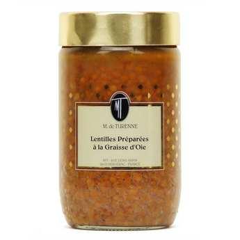 M. de Turenne - Lentilles cuisinées