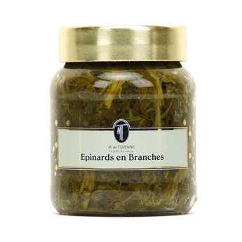 M. de Turenne - Epinards en branches