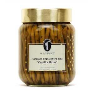 M. de Turenne - Green beans extra fine steady hand
