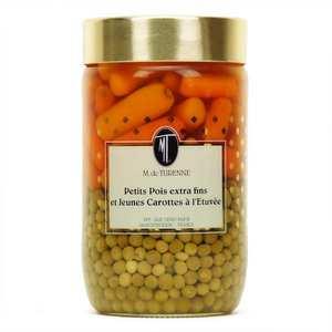 M. de Turenne - Pois extra fins et jeunes carottes