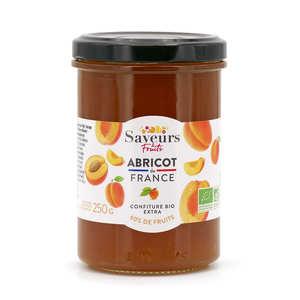 Saveurs Attitudes - Confiture extra d'abricot du Roussillon bio