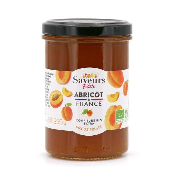 Confiture extra d'abricot du Roussillon bio