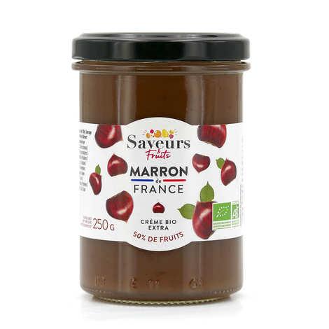 Saveurs Attitudes - Crème de marron d'Ardèche bio