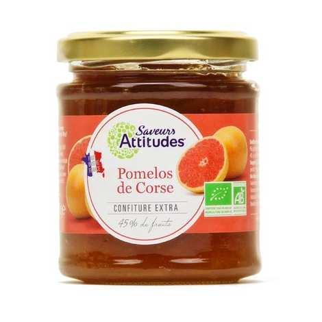 Saveurs Attitudes - Confiture extra de pomelo de Corse bio