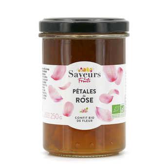 Saveurs Attitudes - Confit de pétales de rose bio