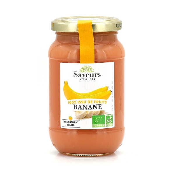 Confiture de banane bio sans sucre ajouté