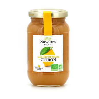Saveurs Attitudes - Crème de citron bio sans sucre ajouté