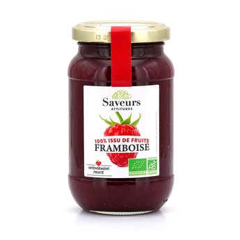Saveurs Attitudes - Organic Raspberrie Jam no added sugar