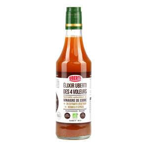 Mondial Uberti - Vinaigre des 4 voleurs bio au vinaigre spécial uberti