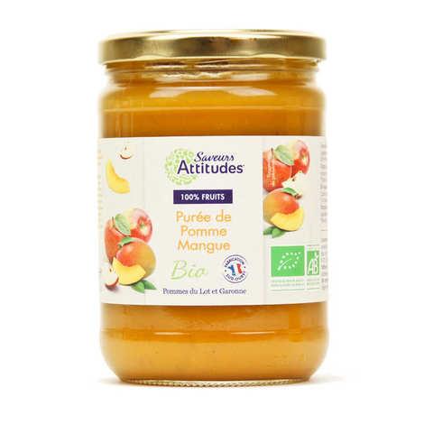 Saveurs Attitudes - Purée de pomme mangue bio