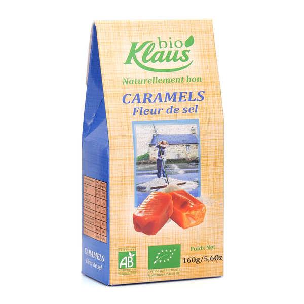 Caramels au beurre salé bio