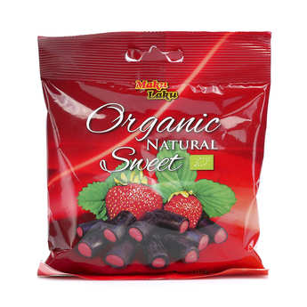 Makulaku - Organic Licorice stuffed with Strawberrie Sweet